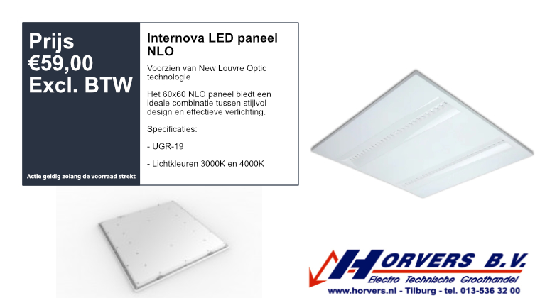 Internova LED paneel NLO