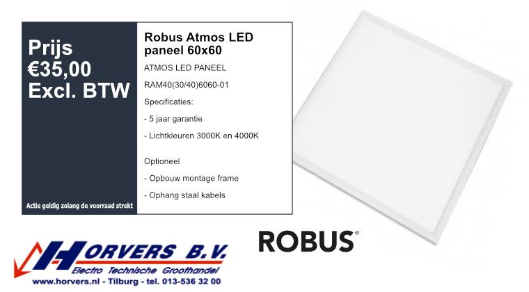 Robus Atmos LED paneel 60x60