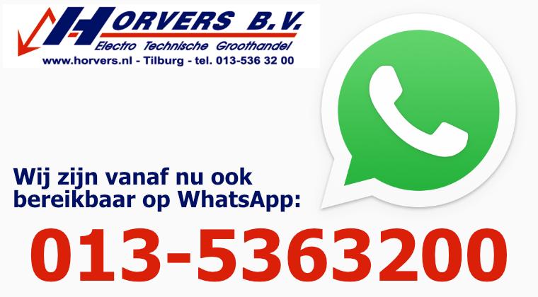 WhatsApp Business Horvers BV